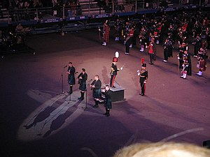 Royal Edinburgh Military Tattoo - The Bonnie Lass o' Fyvie being performed at the Edinburgh Military Tattoo 2007