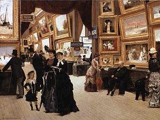 A Corner of the Salon in 1880