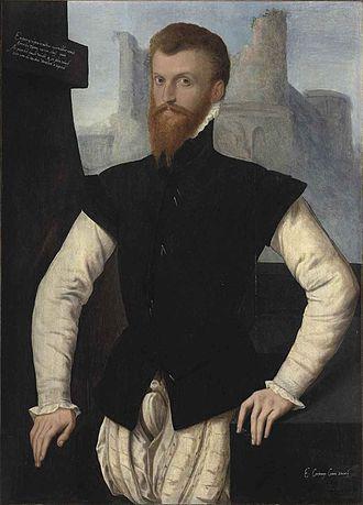 Edward Courtenay, 1st Earl of Devon - Edward Courtney, Earl of Devon, unknown artist, English School, c. 1555