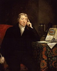 Edward Jenner by James Northcote