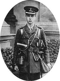 אדוארד, הנסיך מוויילס, בשנת 1915