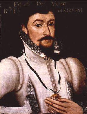 Portrait of Edward de Vere, 17th Earl of Oxfor...