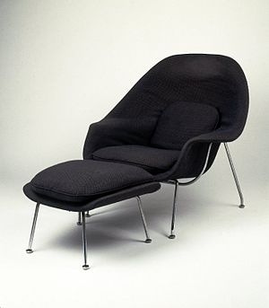 Eero Saarinen - Womb Chair, Model No. 70, Designed 1947-1948 Brooklyn Museum