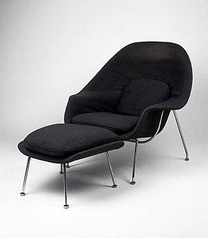 Eero Saarinen - Womb Chair, Model No. 70, Designed 1947-1948 Brooklyn Museum