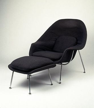Eero Saarinen - Womb Chair, Model No. 70, Designed 1947–1948 Brooklyn Museum