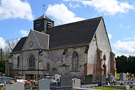 The church in Béalcourt