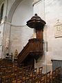Eglise Saint-Acheul, Amiens chaire.JPG