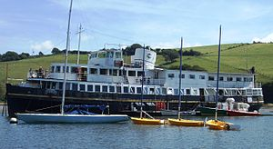 Mersey Ferry - Egremont in Salcombe Harbour