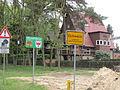 Eichwalde entry signs on Zeuthener.jpg