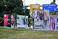 Election posters of Luxembourg general election, 2018 (LSAP-CSV-DP-PIRATEN).jpg