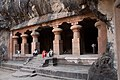 Elephanta Caves entrance pillars.jpg