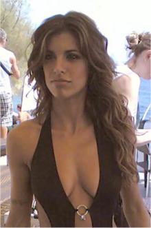 Elisabetta Canalis nel 2007