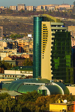 Elite Plaza Business Center - Elite Plaza Business Center from the Golden Market rooftop