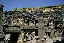 Ellora Cave 16; Kailash Temple