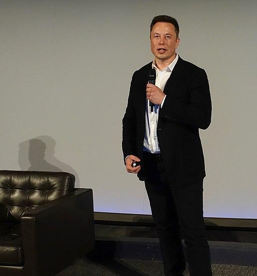 Elon Musk unveiling Neuralink