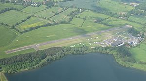 Elstree Airfield - Image: Elstree Airfield from the air