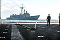 Emergency towing exercise aboard USS New York and USS Samuel B. Roberts 140121-N-GC472-108.jpg