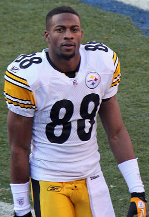 Emmanuel Sanders - Sanders during his tenure with the Pittsburgh Steelers.