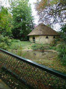 L'Enclos des Canards dans le parc du Thabor