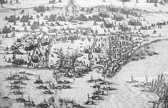 Siege of Saint-Martin-de-Ré - Image: English Siege of Saint Martin 1627