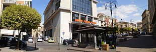 Via Roma tra Piazza VI dicembre e Piazza Umberto I nel settembre 2011