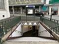 Entrée Station Métro Croix Chavaux Montreuil Seine St Denis 4.jpg