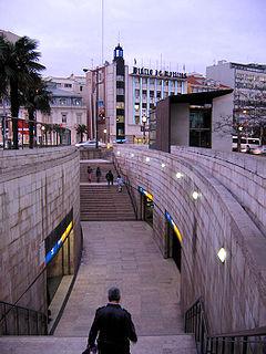 Marquês de Pombal (Lisbon Metro)