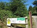 Entrance to the Mynydd Gwynfynydd Forest - geograph.org.uk - 490611.jpg