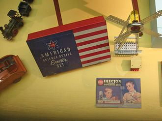 Erector Set - Exhibit in the Museum of the City of New York