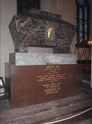 Eric XIV of Sweden - Eric's grave in Västerås Cathedral.