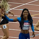 Erica Bougard Race celebration - London Athletics (cropped).jpg