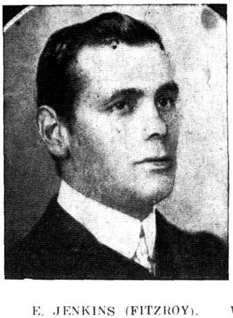 Ern Jenkins - Jenkins in 1907