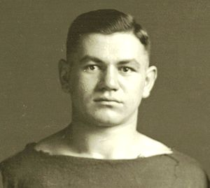 Ernest Allmendinger - Ernest Allmendinger cropped from 1912 Michigan football team photograph