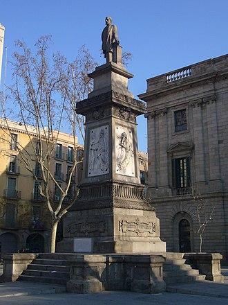 Antonio López, 1st Marquess of Comillas - Monument to the Marquess of Comillas in Barcelona, Spain