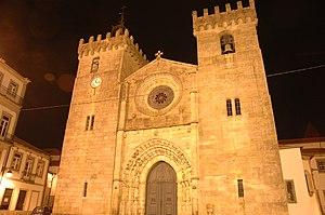 Cathedral of St. Mary the Great, Viana do Castelo - Image: Església major de Viana do Castelo Façana