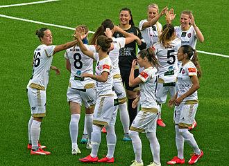 FC Rosengård - FCR team in August 2015