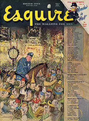 English: Cover of the January 1948 (vol. 29 is...