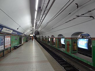 Avenida de Mayo (Buenos Aires Underground) - Image: Estación Avenida de Mayo linea C
