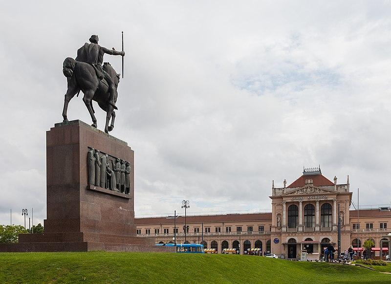 File:Estatua de Tomislav de Croacia, Zagreb, Croacia, 2014-04-20, DD 03.JPG
