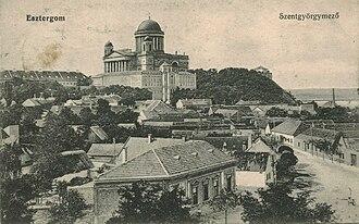 Szentgyörgymező - View from the church tower