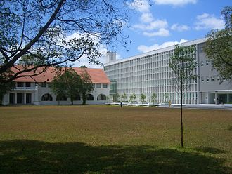 Singapore Management University - The former Raffles College, the site of SMU's first campus