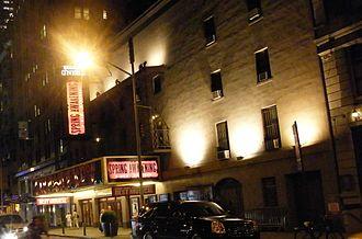 Eugene O'Neill Theatre - Eugene O'Neill Theatre in 2008, during the run of Spring Awakening