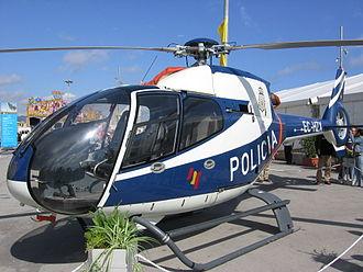 National Police Corps - Image: Eurocopter Colibri Policia Nacional