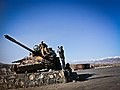 Even Afghans Take Tourist Photos by Tanks (5774610362).jpg