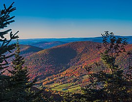 Evergreen Mountain in autumn from Buck Ridge Lookout, Catskills.jpg
