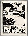 Ex libris Leo Polak door Albert Hahn.jpg