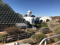 Exterior of Biosphere 2.jpg
