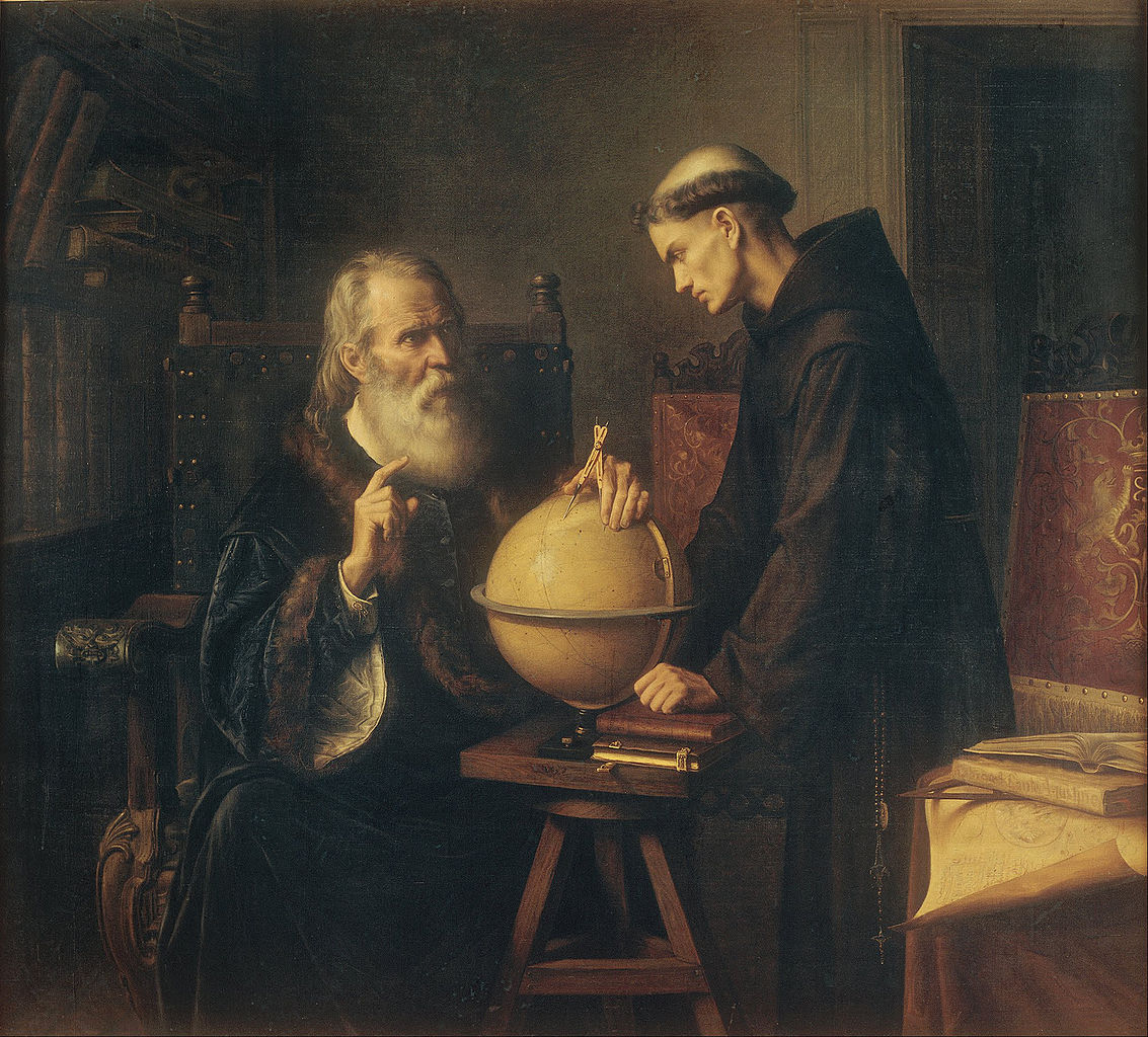 File:Félix Parra - Galileo Demonstrating the New ...