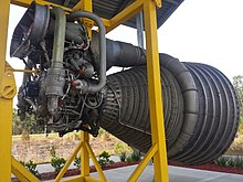 f-1 engine on display at infinity science center