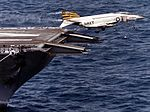 F-4J of VF-151 taking off from USS Midway (CV-41) c1979.jpg